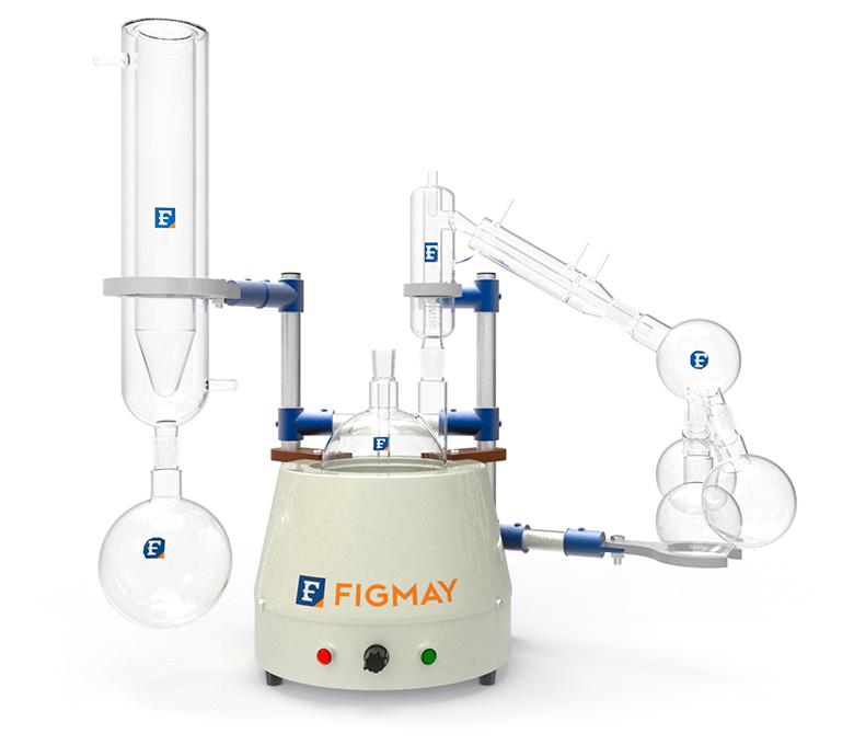 Destilador de Paso Corto