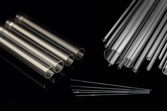 tubos de vidrio borosilicato